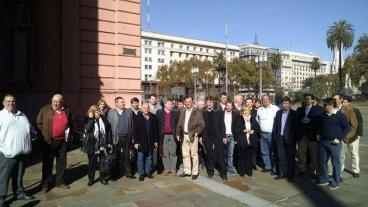 Autoridades comunales se reunieron con Sanmartino