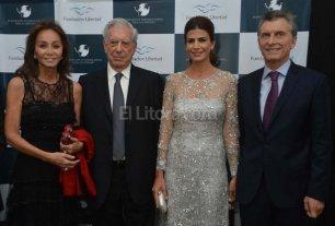 El presidente Macri y Vargas Llosa celebraron la nueva etapa del pa�s