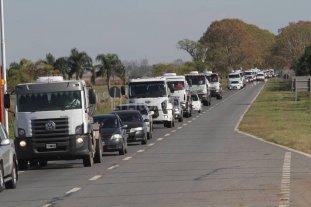 Fin de semana largo: restringen el tr�fico de camiones