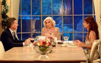 Macri almuerza en la Casa Rosada con Mirtha Legrand