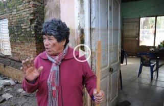 Vecinos curtidos por la inundaci�n regresan a La Vuelta del Paraguayo