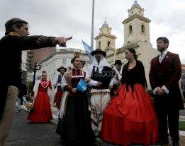 Actividades en la ciudad de Santa Fe por la celebraci�n del 25 de Mayo