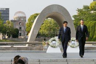 Obama y Abe quieren un mundo sin armas nucleares