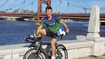 Alberto Pizzarulli competir� en Ironman de Florian�polis