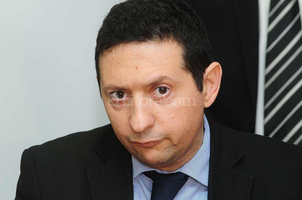 Fiscal Estanislao Giavedoni. Foto:Flavio Raina