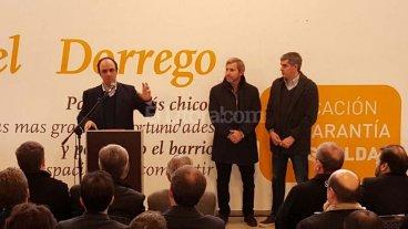 Corral, Pe�a y Frigerio presentaron un Plan de Viviendas