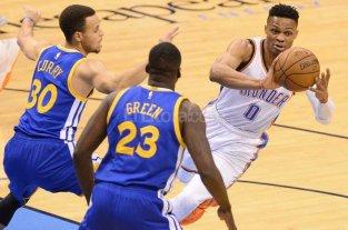 Golden State no se rinde y hay s�ptimo juego ante Oklahoma