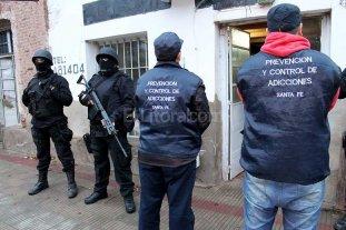 """""""Marat�n"""" de allanamientos en toda la provincia de Santa Fe"""