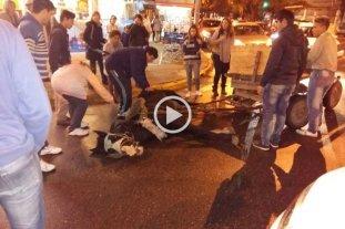 Video: cay� un caballo mientras tiraba de un carro por Bulevar