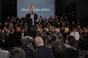 """Macri advirti� que los jubilados """"no pueden esperar"""""""