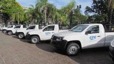 48 nuevas camionetas para la EPE