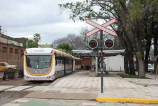 Hirieron a un sereno del Tren Urbano