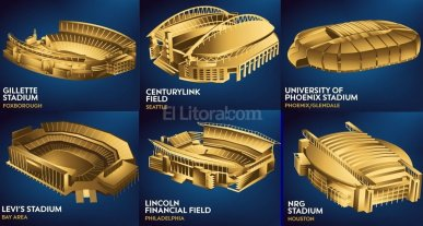 Los 10 estadios donde se jugar� la Copa Am�rica