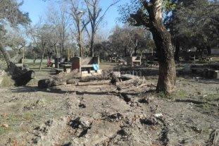 """Preocupaci�n por el """"estado de abandono"""" del Parque del Sur"""