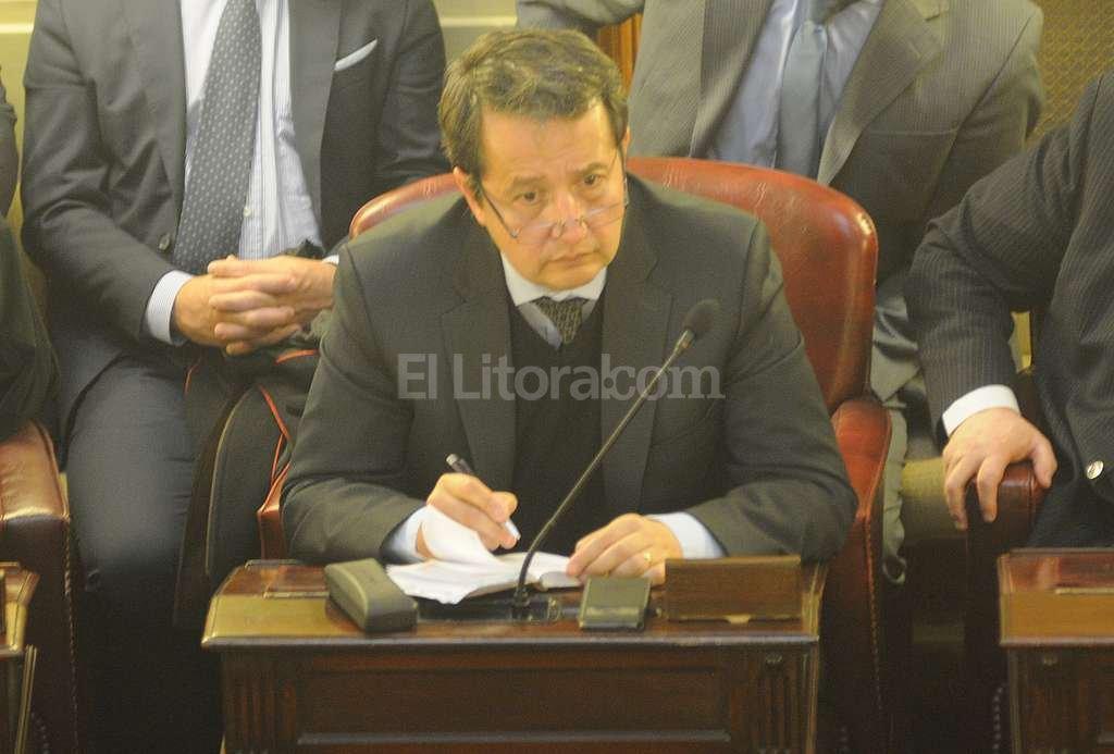 Carlos Del Frade, diputado provincial. Crédito: Archivo El Litoral / Flavio Raina