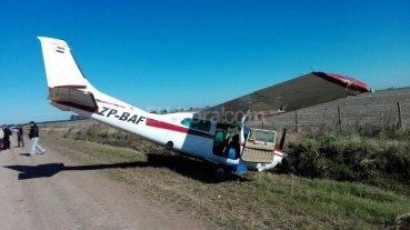 Sorpresa en un camino rural de Los Cardos