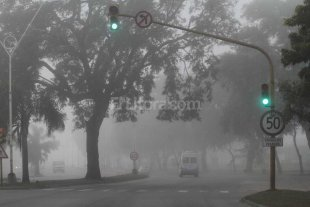 Emitieron un alerta vial por la niebla en Santa Fe