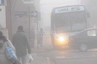 "La niebla se ""apoder�"" de Santa Fe"