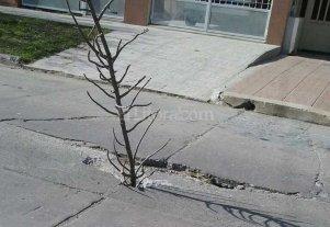 Importante pozo preocupa a vecinos de Villa Dora