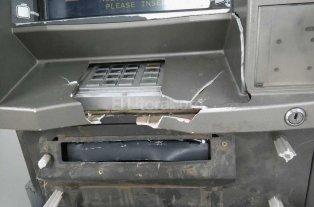 Violentaron un cajero autom�tico en el norte de la ciudad