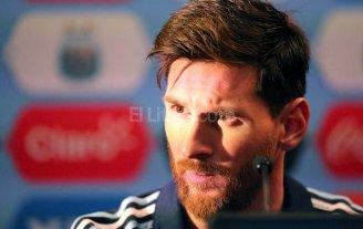 """Messi: """"Despu�s de la final voy a hablar de lo que pasa en la selecci�n"""""""