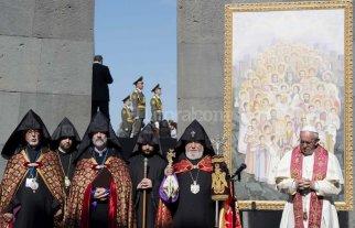"""El Papa volvi� a calificar de """"genocidio"""" la persecuci�n de los armenios"""