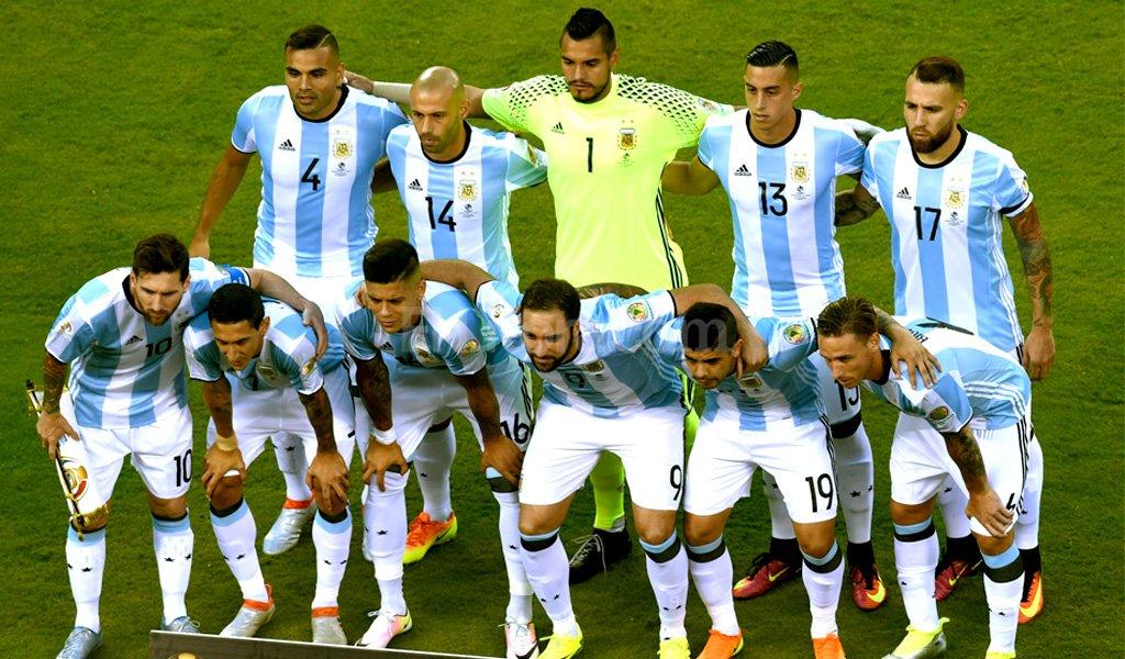 La foto del equipo, en la previa del partido <strong>Foto:</strong> Copa América