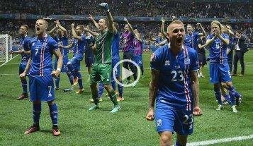 Batacazo de Islandia, que elimin� a Inglaterra de la Eurocopa