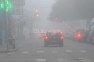 Emiten un informe especial por nieblas