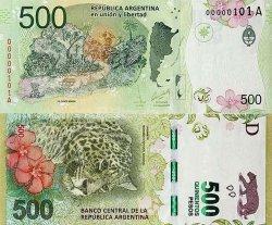 Comienza a circular el billete de 500 pesos