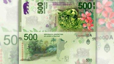 8 claves para conocer el billete de $ 500 y detectar cu�l es falso