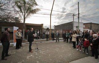 Habilitaron obras de pavimento articulado en Guadalupe Oeste