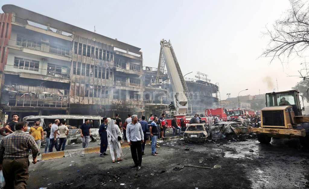 Atentado de Ejército Islámico deja al menos 80 muertos en ...