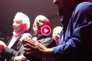 Video: Oyarbide comparte su baile con Caruso y Coppola