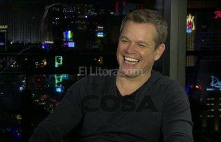 Matt Damon se divirti� pronunciado 4 frases argentinas
