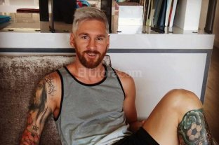 Messi y otro cambio de look
