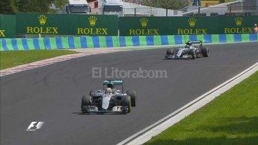 Hamilton gan� en Hungr�a y es l�der de la F1