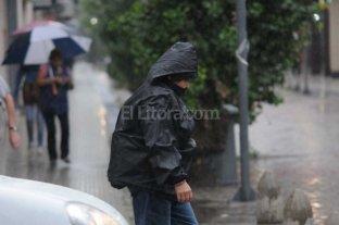 Contin�a vigente el alerta por lluvias en Santa Fe