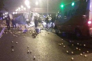 3 muertos en m�ltiple choque en Rosario