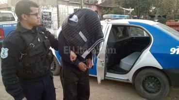 Detenidos, armas y drogas