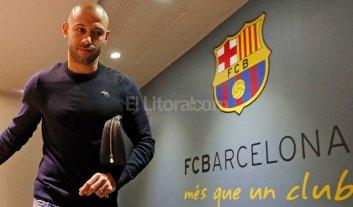 Mascherano sigue en Barcelona por tres temporadas