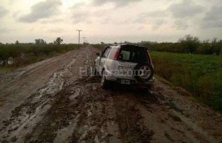 Vecinos de Chaco Chico quedan aislados cada vez que llueve