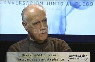 """""""Conversaci�n junto al fuego"""" con H�ctor Mart�n Rotger"""