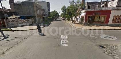 Persecución y captura en barrio Sur con dos detenidos - Intersección de las calles Saavedra y Amenábar.