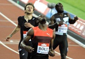Usain Bolt lleg� a R�o de Janeiro