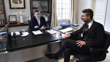"""Marcos Pe�a: """"Mauricio Macri nunca tuvo problema con la imitaci�n"""""""