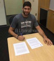 Patricio Garino se suma a San Antonio Spurs
