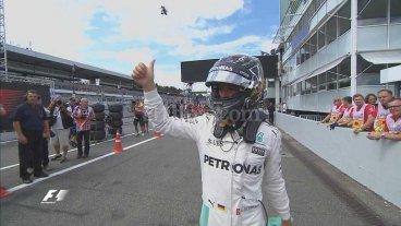 F1: Rosberg largar� primero en Hockenheim