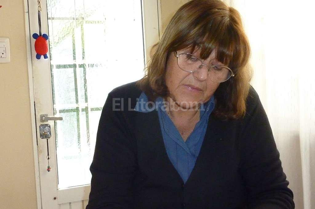 �Quiero escribir un libro para contar las situaciones que me toc� atravesar buscando justicia�, dijo Graciela. Danilo Chiapello