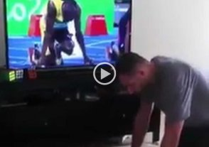 Video: le compite a Bolt con su rubik
